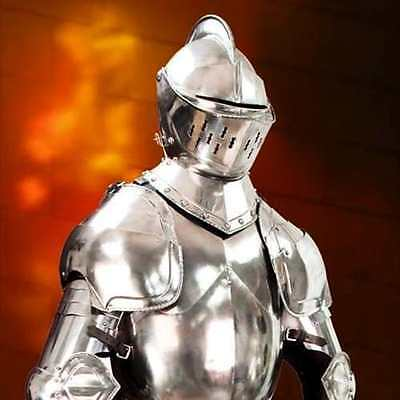 MUSEUM REPLICAS Duke of Burgundy Suit of Armor - Hand Forged - Life Size - NEW