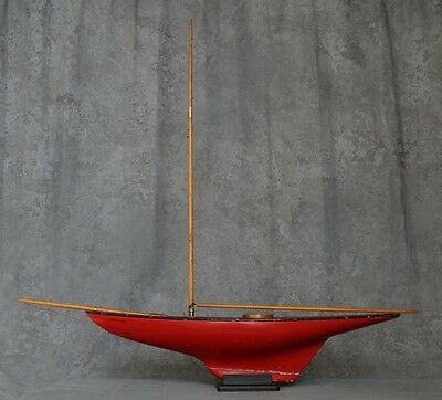 Vintage Pond Yacht and Stand - Originally from the UK - Must See!