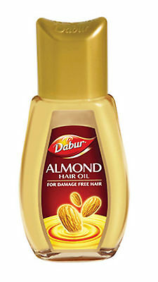 Dabur Almond Hair Oil For Damage Free Hair With Almond Protein 200ml (US Seller)