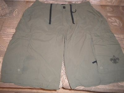 Boy Scouts Of America Centennial Uniform Short 100% Nylon Adult Small