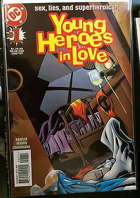 Young Heroes in Love #1 VF+ 1st Print DC Comics