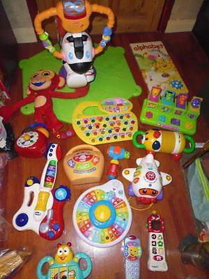 Bundle Quality Baby / Toddler Toys- VTech ELC Fisher Price.