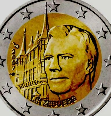Luxembourg 2 Euro Coin 2007 Commemorative Palais Palace New BUNC from Roll