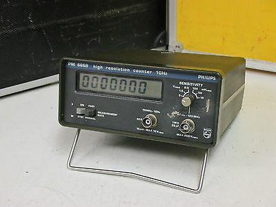 Philips PM 6668, professioneller Frequenzzähler (Fluke+Philips)