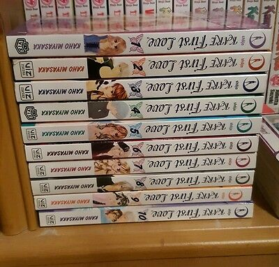 Kare first love manga volume 1-10 (COMPLETE)