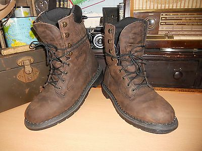 Red Wing, Waterproof Leather, Safety /Work Boots, #1411, Men's Sz 8.5 D, NICE!
