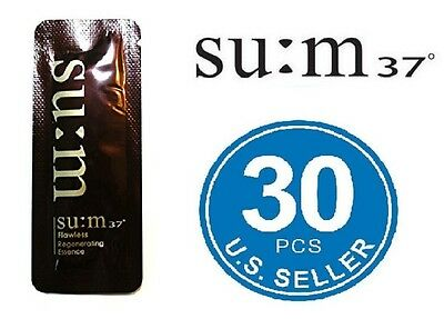 SU:M37 Flawless Regenerating Essence 1ml x 30pcs (30ml) SUM37 US Seller