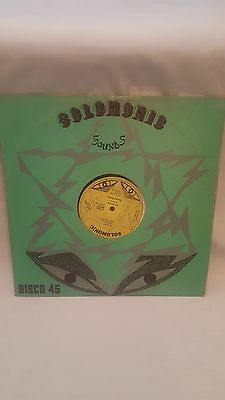 "Solomonic Riding Bunny Wailer 12"" Single Record/Vinyl 45RPM SM001"