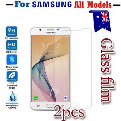 2X Samsung Galaxy J2 J5 J7 Pro A8 J8 J5 J7 Prime Tempered Glass Screen Protector