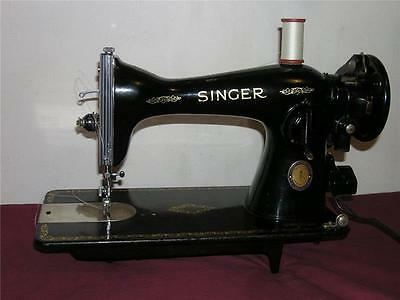 HEAVY DUTY SINGER SEWING MACHINE INDUSTRIAL STRENGTH, 15-91 Gear Driven