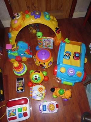 Large Bundle Quality Baby Toddler Toys- 100% Fisher Price