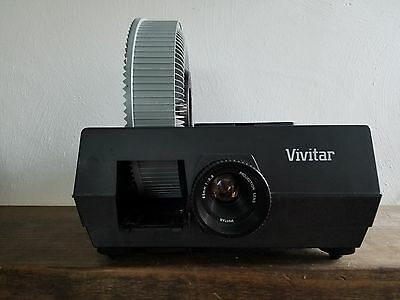 Vivitar 5000AF Slide Projector w/ Carousel and Auto Focus