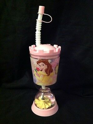 6c839517a7d DISNEY STORE BELLE Snow Globe Tumbler Sippy Cup Beauty And The Beast  Princess