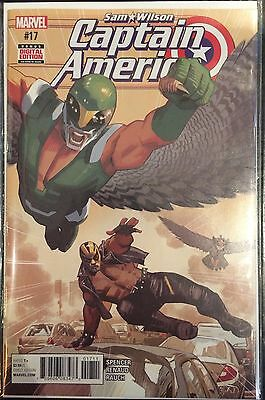 Captain America Sam Wilson #17 NM- 1st Print Marvel Comics