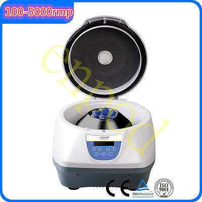 5000 rpm PRP Low speed Lab Electric Centrifuge 8*15ml tubes 110V/220V