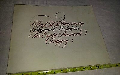 Heywood-Wakefield 150th Anniversary Early American Company Reference/Order Book