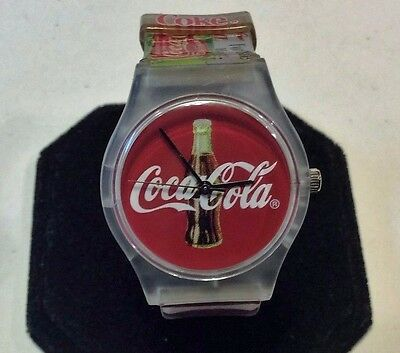 Collectible Coca Cola swatch style 100 year anniversary watch,never worn    C312
