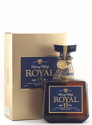 Suntory Royal 15 Year Old Japanese Whisky 700ml Gift Boxed