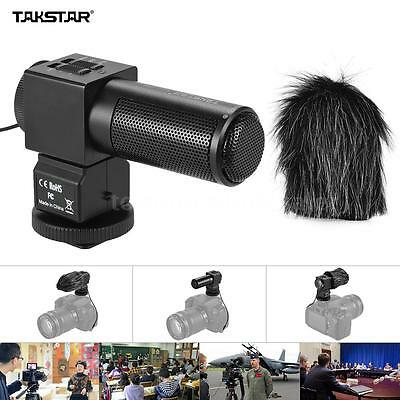 Takstar SGC-698 Photography Interview On-Camera Recording Microphone DSLR Camera
