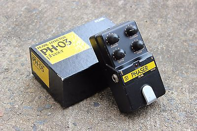 1980's Pearl PH-03 Phaser MIJ Japan Vintage Effects Pedal w/Box