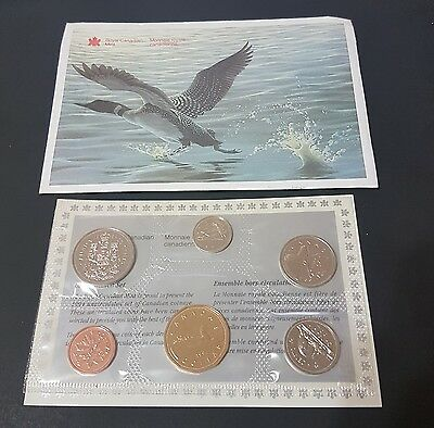 1994 Canada Proof Like Uncirculated 6-Coin Set - Certificate & Envelope