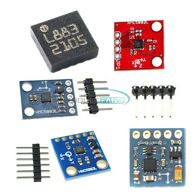 GY-271 GY-273 HMC5883L Triple Axis Compass Magnetomet Sensor 3V-5V For Arduino