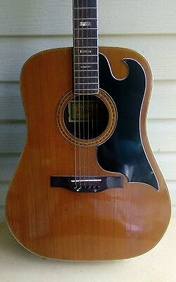 Now $199 Vintage 1970s Aria Acoustic Guitar made in Japan