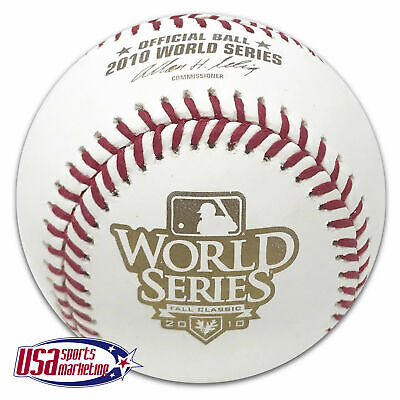 Rawlings 2010 World Series Official Game Baseball San Francisco Giants - Boxed