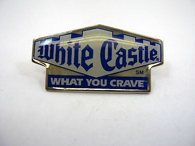 Vintage Collectible Pin: White Castle What You Crave
