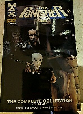 MARVEL THE PUNISHER MAX  THE COMPLETE COLLECTION vol one brand new