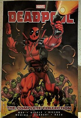 MARVEL DEADPOOL COMPLETE COLLECTION VOLUME 1 and 2 brand new