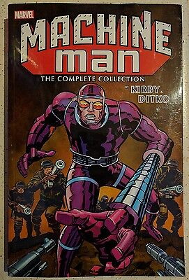 Marvel Machine Man by Kirby Ditko Complete Collection brand new