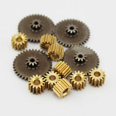 2pcs Copper/Iron Gear Metal Gears 8-16 Teeth 0.5M Modulus Fit 1.5-3.175mm Shaft
