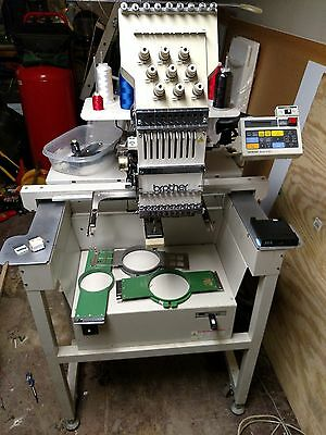 Brother BAS416 Commercial 9 needle embroidery machine