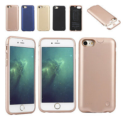 Rechargeable Backup Charger Case Cover Power Bank For iPhone 7/7 Plus Efficiency
