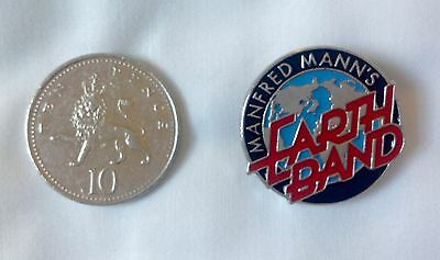 Manfred Mann's Earth Band Official Tour Badge/Pin
