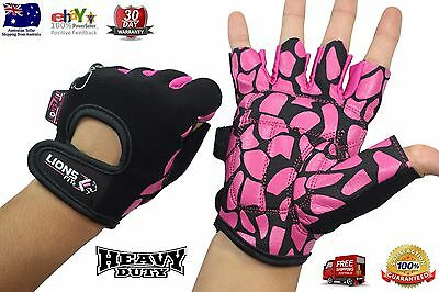 Lions Fit 2017 Ladies Weight Lifting Gloves Gym Body Building Training Gloves