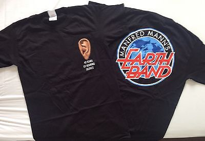 Manfred Mann's Earth Band Official Tour T Shirt Sizes S - 4XL