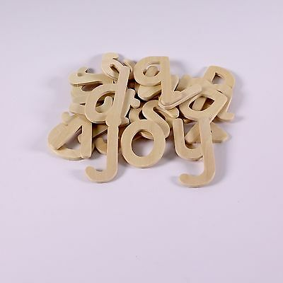 Wooden Lowercase Letter Stencils Small Wooden Alphabet Letters Template Pack