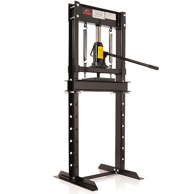 Hawk 12 Ton Heavy Duty Garage Hydraulic Floor Standing Bearing Pulley Shop Press
