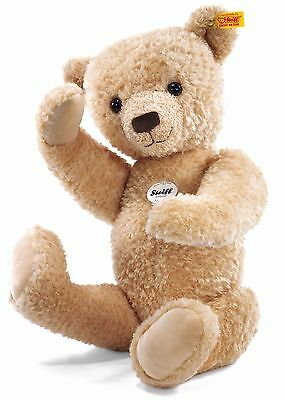 Steiff Hannes Cuddly Soft Cosy Beige Plush Jointed Teddy Bear 42cm 022678 RRP£60