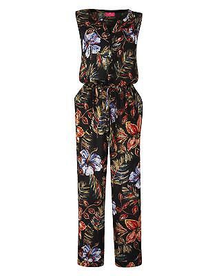 Womens Together Print Jumpsuit in Print