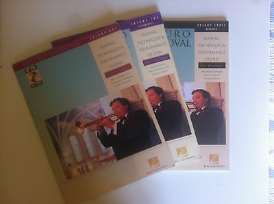Arturo Sandoval Playing techniques and performance studies volumes 1-2-3