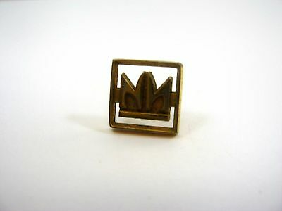 Vintage Collectible Pin: Double N Gold Tone Logo Beautiful Design