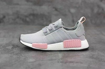 6c9d6a94e75b6 ADIDAS NMD R1 Nomad Clear Onix Vapour Pink Grey New DS Women Size 5 ...