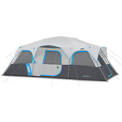 12 Person Tent 20'x10' Bushnell Sport Series Cabin Tent Hunting Camping 4 Season