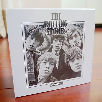 """NEW! The Rolling Stones """"In Mono"""" (Remastered 2016) 15 CD Box Set Collection"""