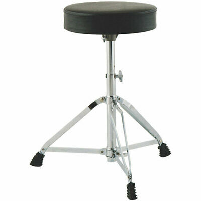 New On Stage Drum Fire MDT2 Height Adjustable Double-Braced Drum Throne