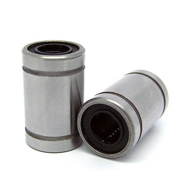 6pcs LM8UU 8mm Linear Ball Bearing Bush Bushing