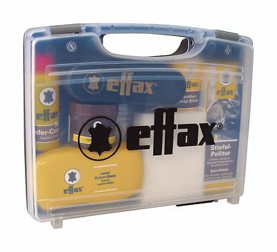 Effax Boots Shoe Polish Cleaning Riding Equipment Travelling Leather Care Case